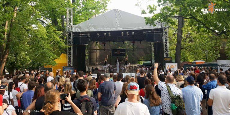 Art 4 People - Mezinárodní den tance - stanoviště stage